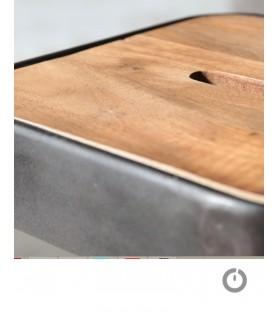 Les tabourets de bar industry en bois