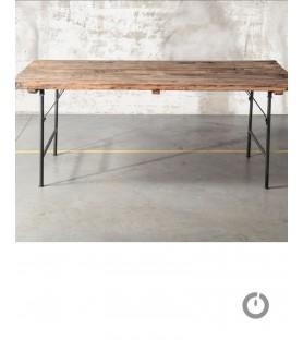 Table bois recyclé Reserve