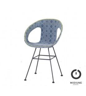 Chaise de bar Atelier Blue