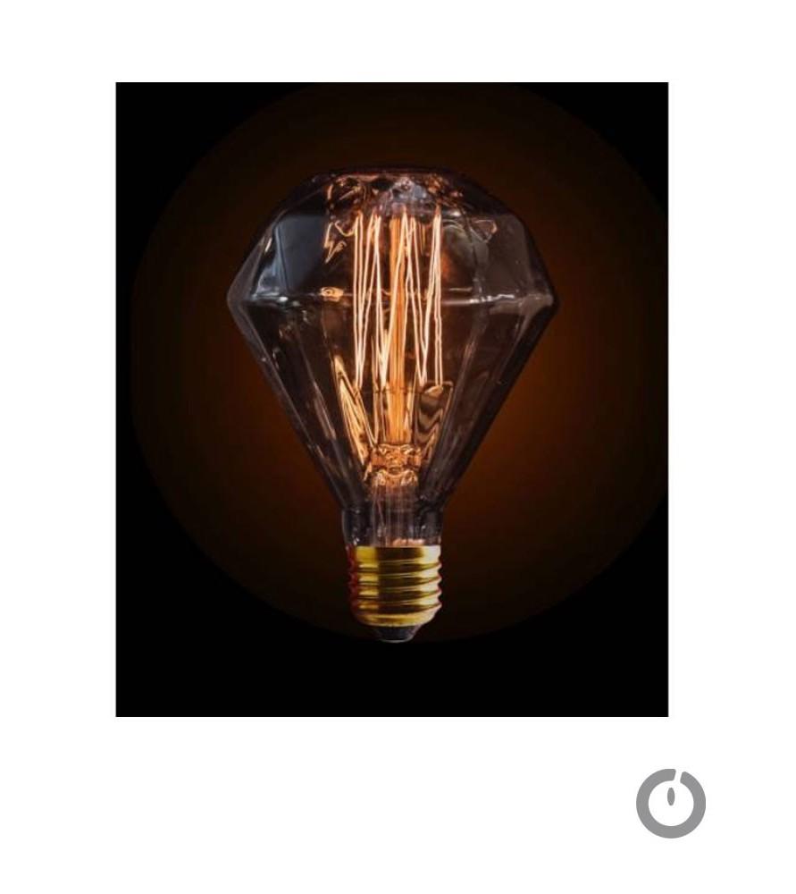 Ampoule à filament diamant