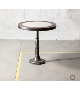 """Table """"old wheel"""" Marbre"""
