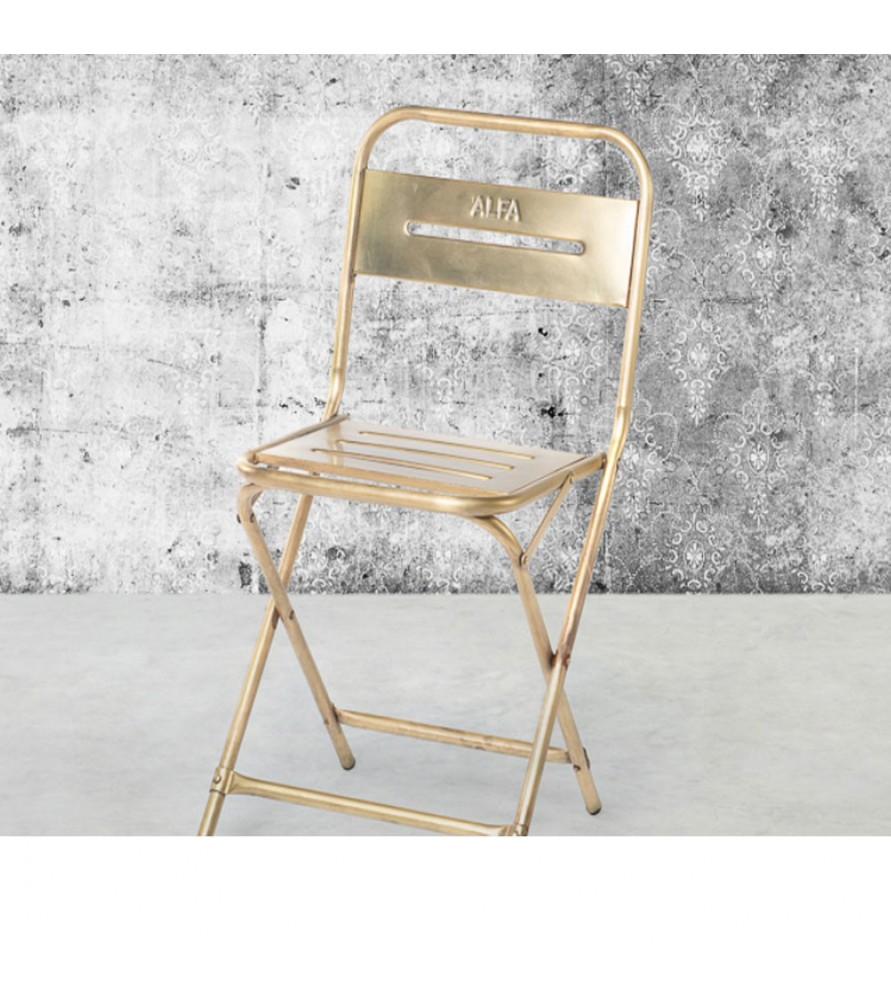 Les 4 Chaises pliantes Skin Manufactori