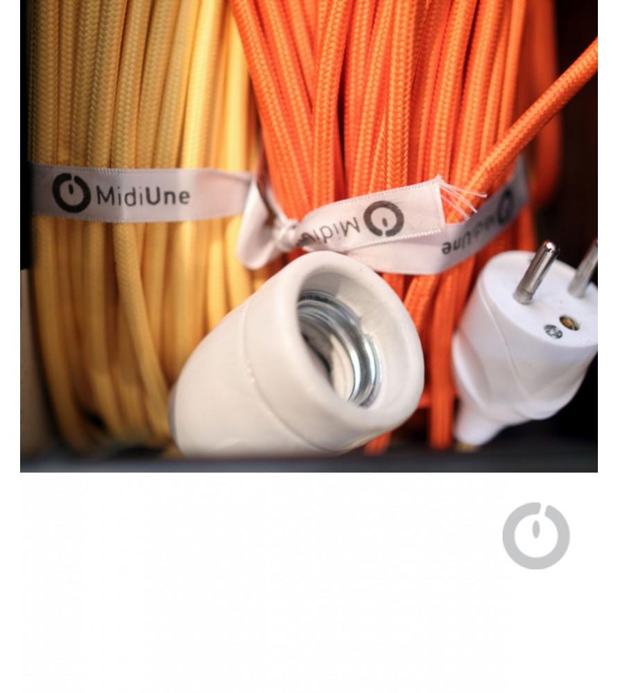cable textile electrique rond