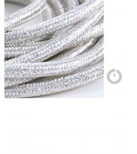 suspension et cable électrique textile lamé