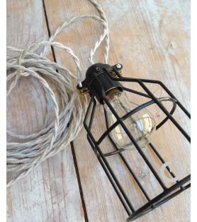 La Baladeuse industrielle et son cable en lin