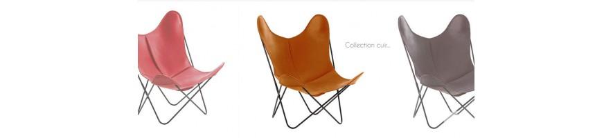 Les fauteuils Airborne en cuir